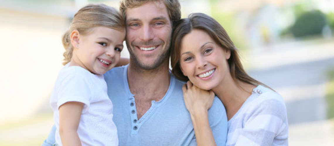 41809582 - portrait of happy family having fun together